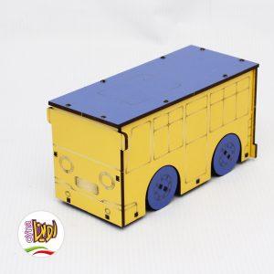 سازه چوبی اتوبوس